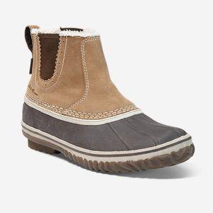Eddie Bauer Hunt Pac Slip On Ankle Boots ✌🏼